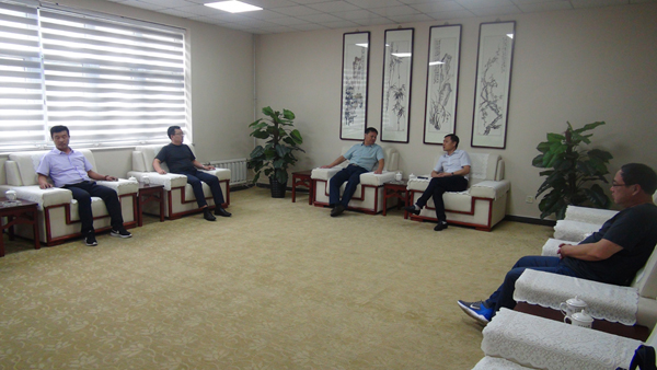 董事长一行8人到利津威廉希尔公司app处和天津分公司检查指导工作