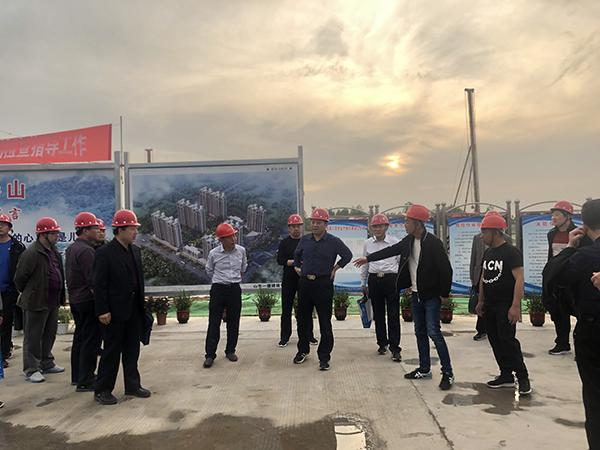 公司组织开展土建大项目检查暨二季度安全生产经济会议